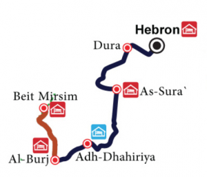 Hebron_to_Beit_Mirsim_Masar_Ibrahim_map-300x257