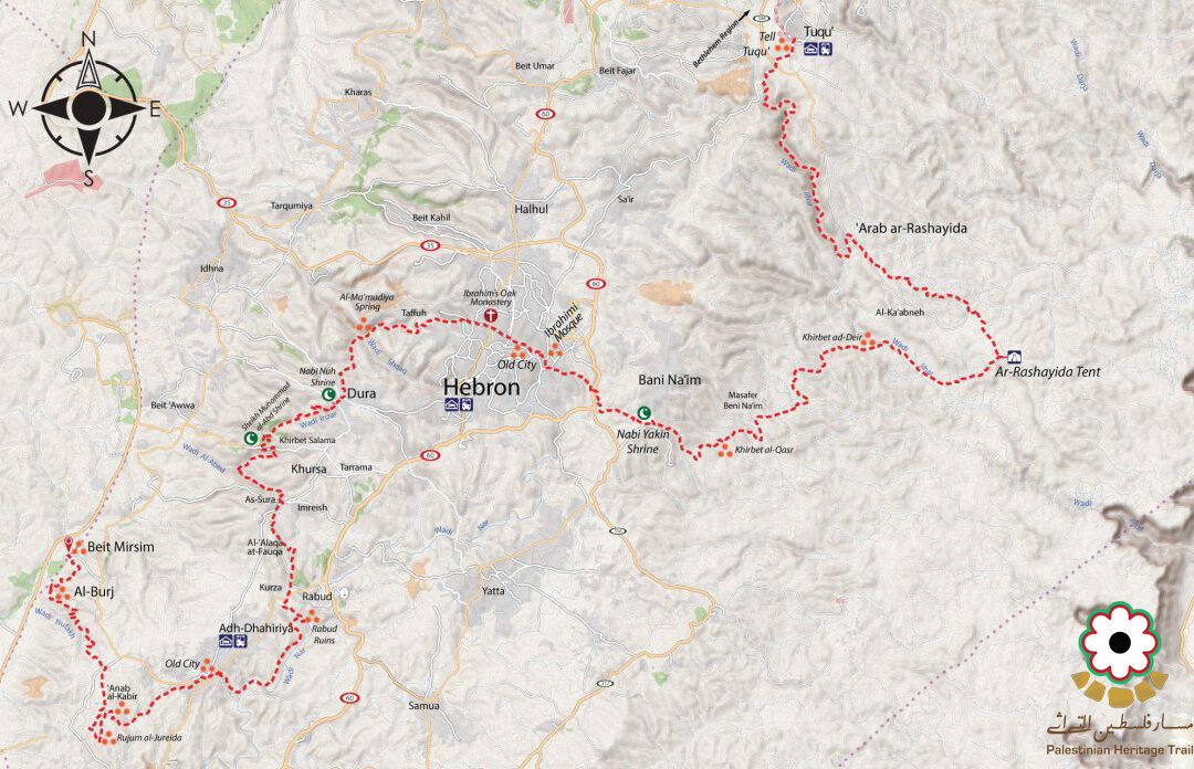 Hebron-Regional-Map